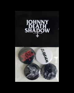 JOHNNY DEATHSHADOW 'D.R.E.A.M' Button-Set